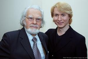 профессор В.П. Морозов и контртенор Рустам Яваев