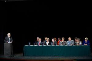 Церемония открытия конгресса `Голос`