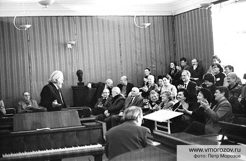Презентация книги Искусство резонансного пения на научно-практической конференции по вокальному искусству 23 марта 2007 г.