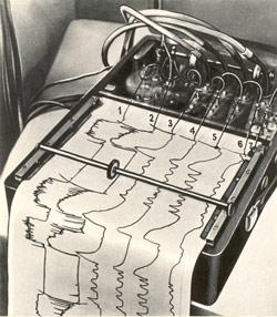 Прибор фонопнеймограф, конструкции В.П. Морозова (1954 г.)